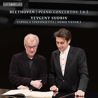 Beethoven / Sudbin / Sinfonietta / Vanska - Ludwig Van Beethoven: import USA Piano Concertos nr 1 & 2 [SACD]
