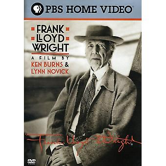 Frank Lloyd Wright [DVD] USA importere