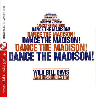 Wild Bill Davis y su orquesta - baile el Madison! [CD] USA importación