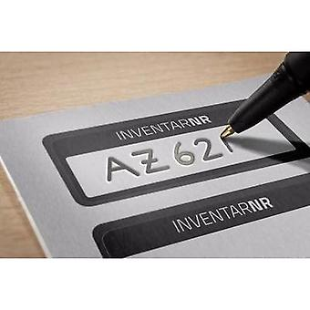 Avery-Zweckform 6920 Labels (hand writable) 50 x 20 mm Aluminium film Silver, Black 50 pc(s) Permanent Stock labels Hand