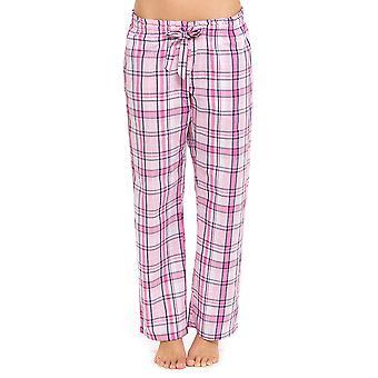 Dame Foxbury Polycotton sommeren trykt pyjamas bukser bunden Lounge slid bukser