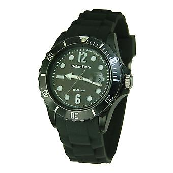 Solar Flare Watch - Black