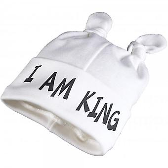 Spoilt Rotten I Am King Baby Knot Hat