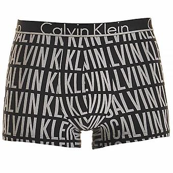 Calvin Klein ID Cotton Trunk, Assemble Logo Black, Small