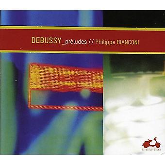C. Debussy - Debussy: 24 Pr hentyder [CD] USA importerer