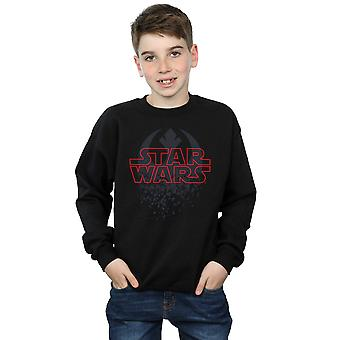 Star Wars Boys The Last Jedi Shattered Emblem Sweatshirt