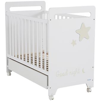 Micuna Istar Cradle 120x60 White / Sand (Home , Babies and Children , Bedroom , Cribs)