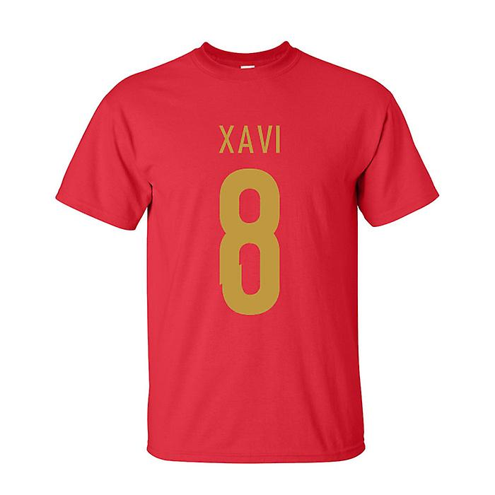 Xavi Spain Hero T-shirt (red)