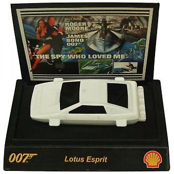 Shell James Bond 007 samlerobjekt 1:64th skala bil fra Shell Lotus Esprit