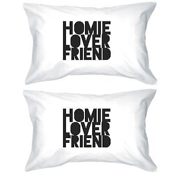 Homie geliebter Freund Paare passenden dekorativen Kissenbezüge Geschenken