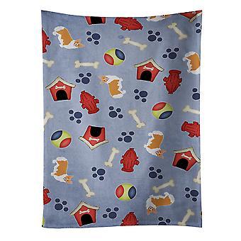 Dog House Collection Pembroke Corgi Kitchen Towel
