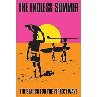 The Endless Summer Poster Print by John Van Hamersveld (24 x 36)