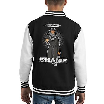 What A Shame Game Of Thrones Kid's Varsity Jacket