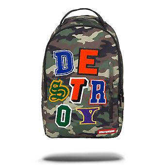 Sprayground Destroy Backpack - Camo