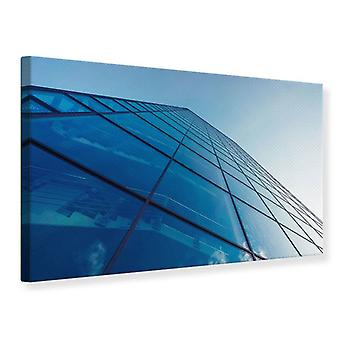 Canvas Print Skyscraper Highlight