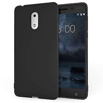 Nokia 6 Gel Case Matte Black