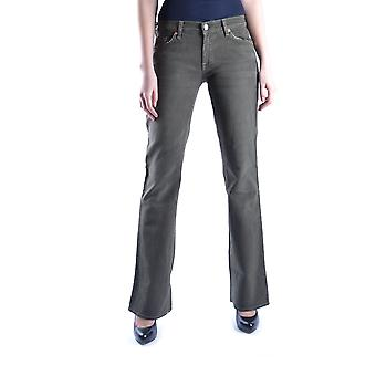 7 for all mankind ladies MCBI004017O green cotton of jeans