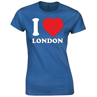 I Love London grappige Womens T-Shirt 8 kleuren door swagwear