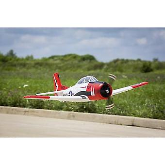 E-flite T-28 RC model aircraft BNF 1225 mm