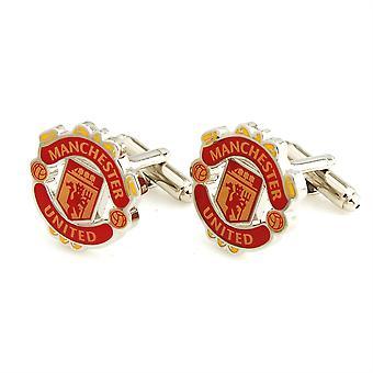 Manchester United Football Sport Manschettenknöpfe Neuheit Hochzeit Geburtstag Geschenk Manchester United