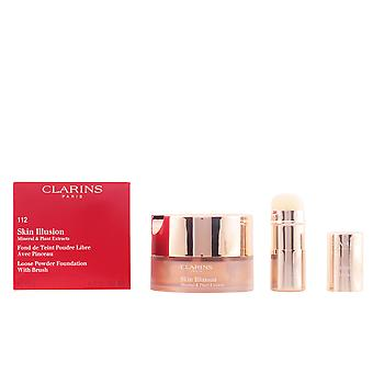 Clarins Skin Illusion Powder Amber 13gr Womens New Sealed Boxed