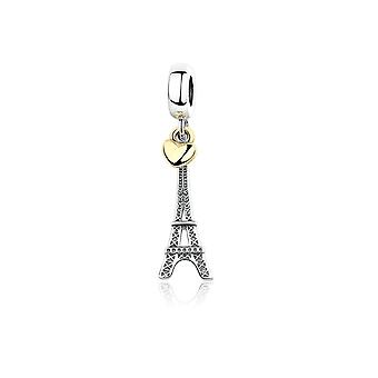 Charms Bead for Eiffel Tower Paris in Silver 925