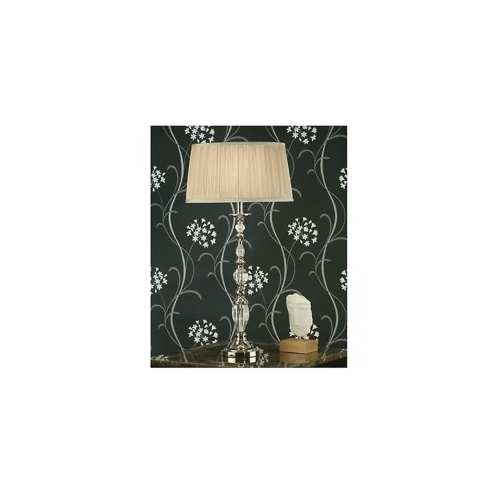 Interiors 1900 LX124BS+LX123SHW Polina Large Single Light Table Lamp I