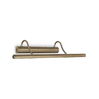 Ideal Lux Large Bronze Picture Light, 4 X G9, 60cm