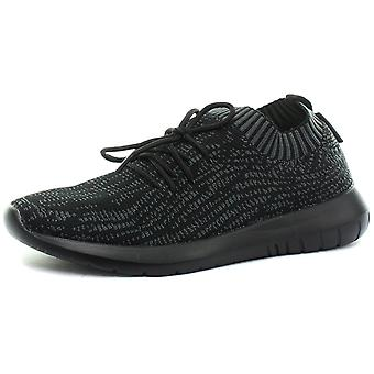 Gola Active Evolve Black/Charcoal Womens Trainers