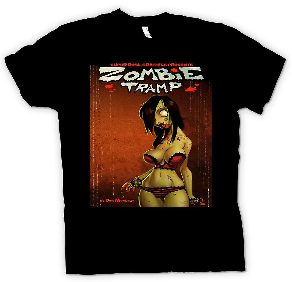 Kids T-shirt - Zombie Tramp - Undead - Pin-Up