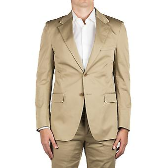 Prada Men's Cotton Two-Button Suit Khaki