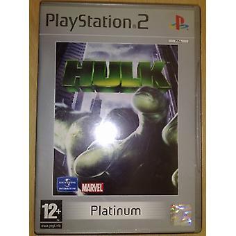 Hulk Platinum (PS2)
