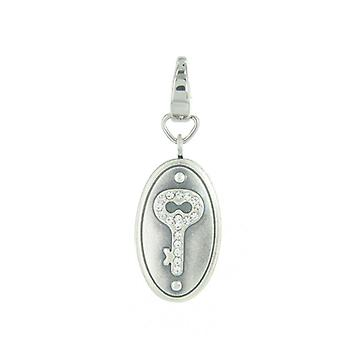 Fossil pendants charms JF87598040 Castle oval glass blocks