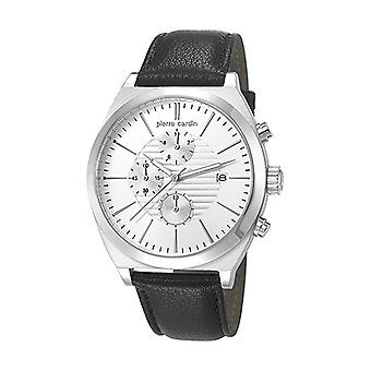 Pierre Cardin mens watch watch Chrono CAMBRONNE leather PC106701F01
