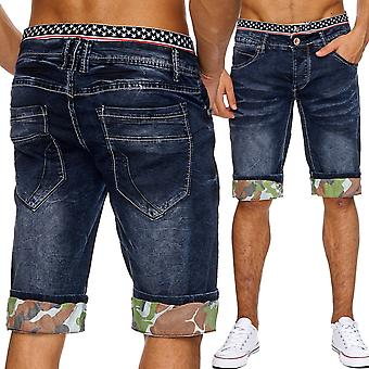 Men's jeans shorts oversized Boxer style shorts denim summer W34 - W46 new