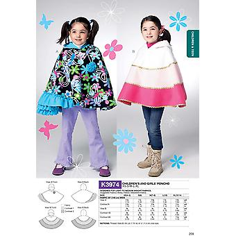 Children's/Girls' Capes-All Sizes in One Envelope -*SEWING PATTERN*
