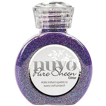 Nuvo Pure Sheen Glitter 3.38oz-Violet Infusion