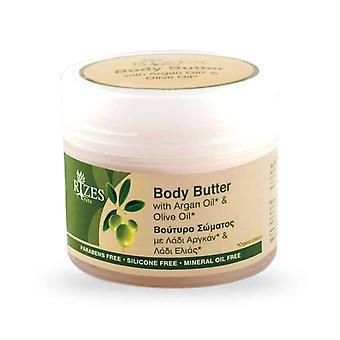 Масло для тела с оливковым маслом и Аргана масло