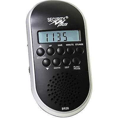 Radio de vélo sécurité Plus BR28 MP3 USB-noir argent