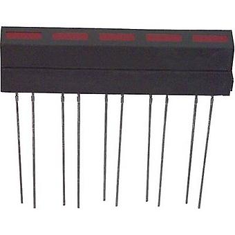 LED component Red (L x W x H) 35.5 x 33.4 x 6.1 mm LUMEX