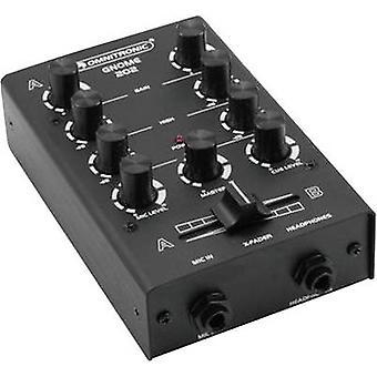 2-channel DJ Mixer Omnitronic Gnome E-202
