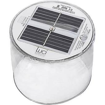 Solar desk light LED Warm white Transparent Inflatable
