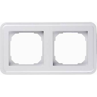Sygonix 2x Frame SX.11 Sygonix white, (glossy)