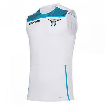 2018-2019 Lazio Sleeveless Training Jersey (White)