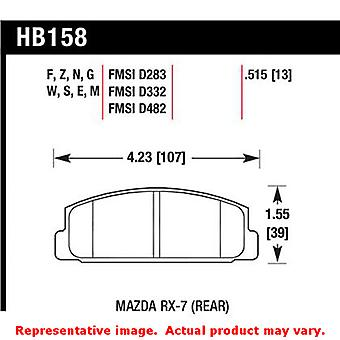 Hawk 'Performance Street' Brake Pads HB158F.515 Fits:MAZDA 2003 - 2005 6  Posit