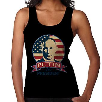Putin For President Women's Vest