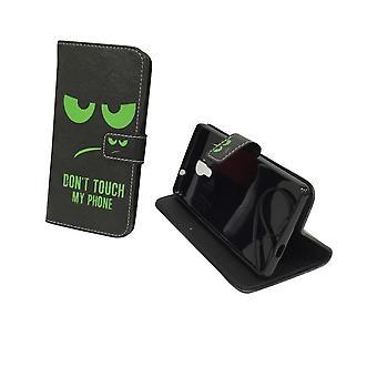 Mobiltelefon tilfælde pose for mobile WIKO Robby ikke røre min telefon grøn