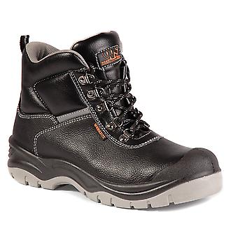 Worksite Safety Boot. Steel Toe & Midsole. Sizes 5-12 - SS609SM