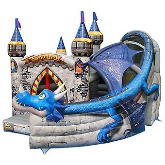 Happy Hop Commercial Bouncy Castle Dragon Age Style