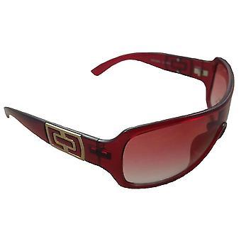 TWO EyeWear Red Sunglasses UV Protection Summer Sun Bright Snow Ski Gold FREE UK